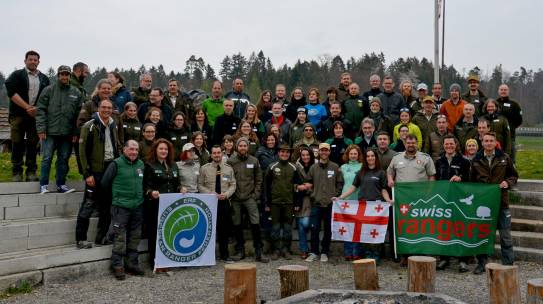 European ranger workshops at Swiss rangers meeting
