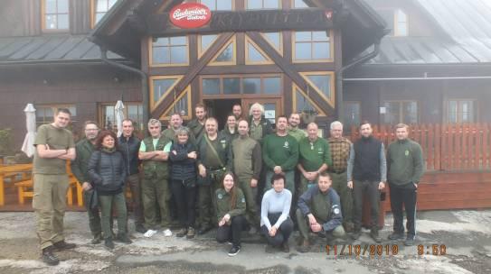 Slovak/Czech Ranger meeting 8-10 November 2019
